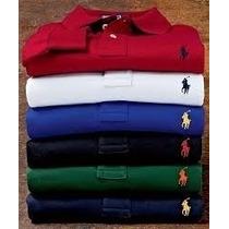 Camisa Polo Ralph Laren Kit Com 3 Camisas Polo Ralph Kit