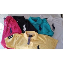 Camiseta Camisa Polo Masculina Ralph Lauren Diversas Cores