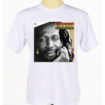 Camiseta Camisa Estampada Banda Reggae Gregory Isaacs