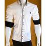 Camisa Social Slim Fit Masculina Fabricação Pronta Entrega