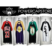 Camisa Camiseta Chicago Bulls Nba, Boston, La, Raiders, Ny