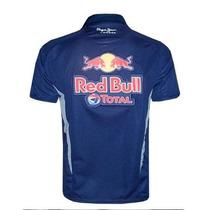 Camisa Red Bull Formula 1 Racing Team Gola Polo Azul