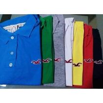 Camisa Gola Polo Hollister
