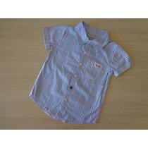 Camisa Tigor T Tigre Original Listrada Branco/azul