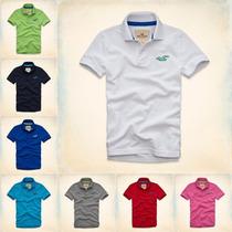 Camisa Camiseta Gola Polo Masculina Hollister Envio Imediato