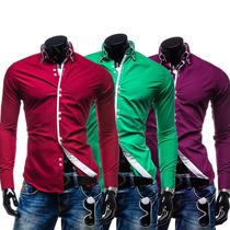 Camisa Social Masculina Importada Frete Gratis