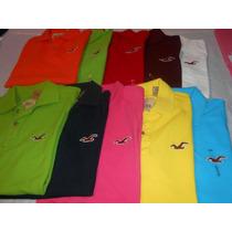 Camisa Gola Polo Hollister Masculina Pronta Entrega