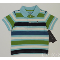 Camisa Gola Polo Infantil Tommy Hilfiger Tamanho 2t - 2 Anos