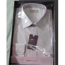 Camisa Raphy Ml Classic, Ref.52102 Tam. 6/46 Na Cor Branco