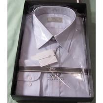 Camisa Raphy Ml.work Ref.52062, Tam. 44-5,azul Claro (nebli.