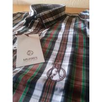 Camisas Country Masculina Xadrez Muares Muladeiros 100% Alg.