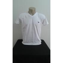 Camisa Armani Masculina Gola V