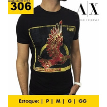 Camiseta Harmani Exchange Original Masculina Pronta Entrega