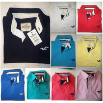 Camisa Polo Masculinas Hollister