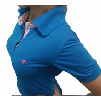 Kit Com 5 Camisetas Polo Feminina - Reouvé - Promoção!!!