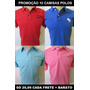Kit 10 Camisas Polos De Marcas Hollis Abercrom Tommy Lacos