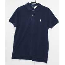 Camisa Polo Ralph Lauren Classic Fit Azul Marinho Original