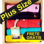 Kit 6 Camisas Polo Plus Size Xg E Xxg Sheep Fyeld Original