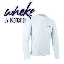 Camisas Manga Longa Com Proteção Uv - Fps50+ Wheke Uv Protec