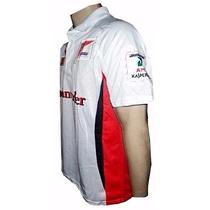 Ferrari Racing F1 - Camisa Pólo - Frete Grátis