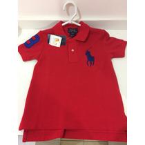 Camisa Gola Polo Infantil Ralph Lauren 2t