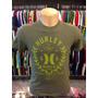 Camiseta Hurley Verde Tam P #457 Original Regata Polo Camisa