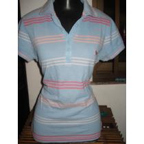 Camisa Polo Da Pool Feminina Tam M