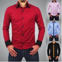 Camisa Slim Premium Luxo Qualidade Top Pronta Entrega