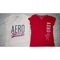 Kit De 2 Camisas Camisetas Original Aéropostale Hollister