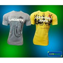Kit C/20 Camisas Masculina Hollister Lacoste Ck+frete Grátis