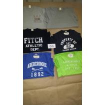 Camisetas Abercrombie Original Pronta Entrega