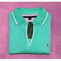 Camisa Polo Tommy Hilfiger Feminina Original Tamanho G E Xg