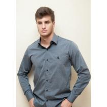 Camisa Maquineta Preto/cinza Com Gorgurão