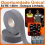 Fita Tecido Refletiva Para Coletes E Uniformes 100mts X 50mm