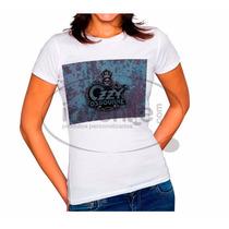 Camiseta Baby Look Feminina Ozzy Osbourne