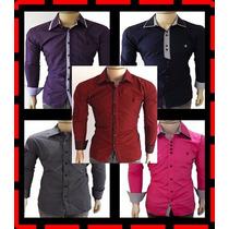 Camisa Social Tommy/ Sergio K/ Ralph/ Armani (frete Barato)