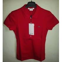 Camisa Polo Feminina Marca Famosa Lisas / Listras Vários Tms