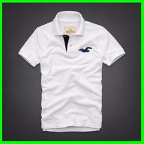 Camisa De Gola Polo Camiseta Hollister Abercrombie Tommy