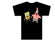 Camiseta Infantil Desenho Bob Esponja