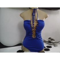 Blusa Body Feminino Da Empório Blue ..... Um Luxo !