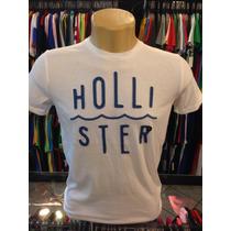 Camiseta Hollister Branco Tam P #1982 - Polo Regata Camisa