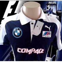 Camisa Polo Willians F1 Bmw . Frete Grátis E P. Entrega