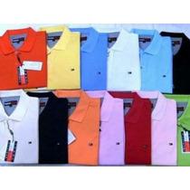 Kit 5 Polo Camisa Ralph Lauren Tommy Hollister Abercrombie