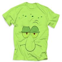 Camisa Lula Molusco- Bob Esponja Desenho Animado Moda Unisex