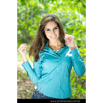 Camisa Social Tradicional Verde - 1032