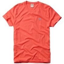 Camiseta Ralph Lauren Azul Original Abercrombie Hollister