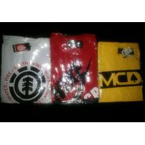 3 Camisas Skate Nike Sb + Mcd + Element Frete Grátis