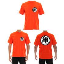 Camisa Dragon Ball - Kimono Goku Para Treino