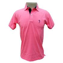 Camisa Polo Aleatory Rosa Pink