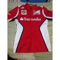 Camisa Social Puma Scuderia Ferrari Original